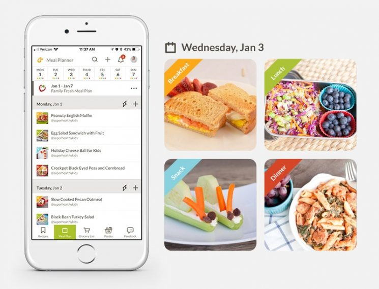 Best Meal Planning Apps for the Family to Use on Phone